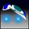 3D Space Ski. Icon