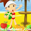 Beach Fruity Snack Icon