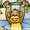 Climbing Monkey Coloring Icon