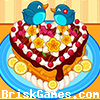Cute Heart Cake Icon