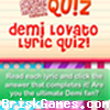 Demi Lovato Lyric Quiz Icon