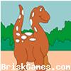 Dinosaur Coloring Icon