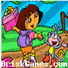 Dora and Boots Coloring Icon