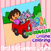 Dora the Traveler Icon