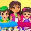 Dora Twins Babysitter