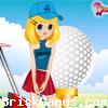 Golfer Girl . Icon