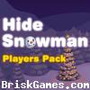 Hide Snowman. Icon