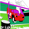 Lightning Mcqueen Coloring Icon