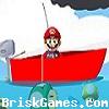 Mario Mushroom Fishing Icon
