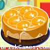 Orange Ribbon Cheesecake Icon