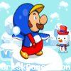 Snowy Mario 3 Icon