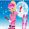 Winter Barbie Dress Up Icon