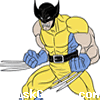 Wolverine Coloring Icon