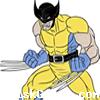 Wolverine Coloring Icon
